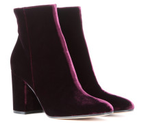 Ankle Boots Rolling 85 aus Samt
