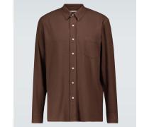 Hemd aus Bourretteseide