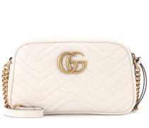 Crossbody-Tasche GG Marmont aus Matelassé-Leder