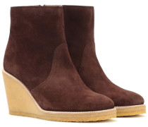 Ankle Boots Gaya aus Veloursleder