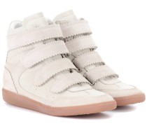 High-Top-Sneakers Bilsy aus Leder