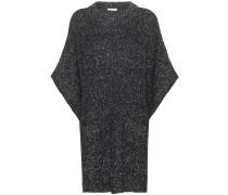 Strickkleid aus einem Baumwoll-Woll-Mohairgemisch