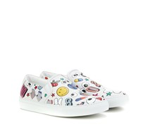 Sneakers All Over Wink aus Leder