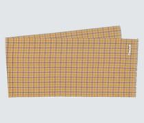 Karierter Schal Varney aus Wolle