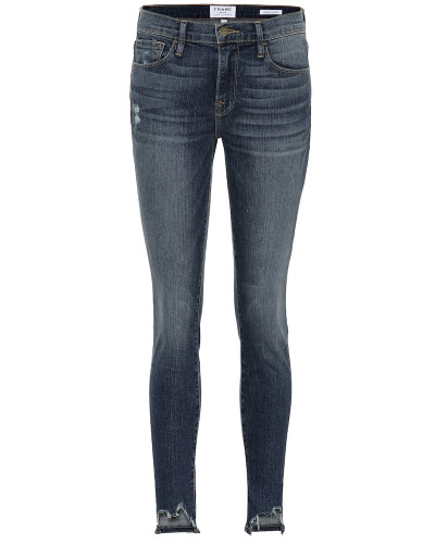 Mid-Rise Jeans Jeanne Front Chew