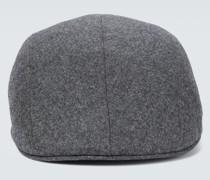 Mütze aus Schurwollflanell
