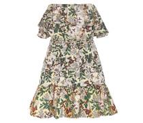 Off-Shoulder-Kleid aus Jacquard