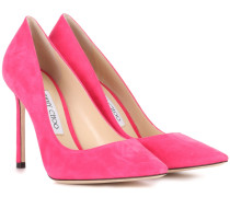 Pumps Romy 100 aus Veloursleder