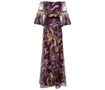 Bestickte Robe aus Tüll