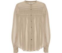 Bluse Plalia aus Baumwoll-Voile