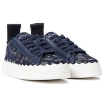 Sneakers Lauren mit Spitze