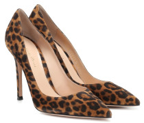 Pumps Gianvito aus Veloursleder