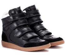 High-Top Sneakers Bilsy aus Leder