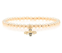 Armband Small Bee aus 14kt Gelbgold