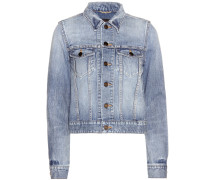 Verzierte Jeansjacke Original
