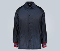 Jacke aus Jacquard