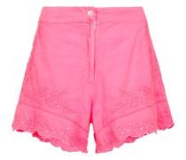Bestickte Shorts aus Baumwolle