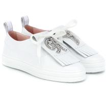Sneakers Call Me Vivier aus Leder