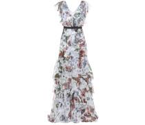 Kleid Perry aus Seidenchiffon