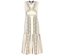 Besticktes Kleid Index aus Stretch