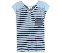 T-Shirt Beaumont aus Leinen und Baumwollgemisch