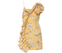 Minikleid aus Seide