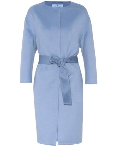 Mantel aus Wolle, Angora und Cashgora