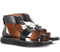 Sandaletten Nindle aus Leder