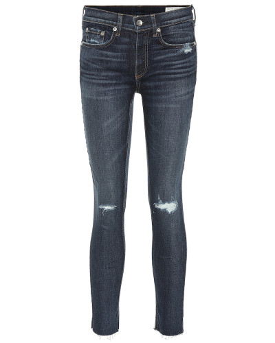 High-Rise Jeans Ankle Skinny