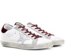 Exklusiv bei mytheresa.com – Sneakers Superstar aus Leder