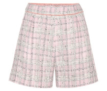 Shorts aus Tweed