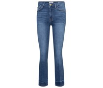 Mid-Rise Bootcut Jeans Le Crop Mini