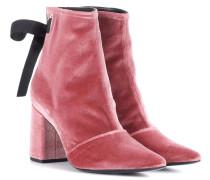 X Robert Clergerie Ankle Boots Karlit aus Samt
