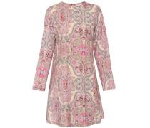 Bedrucktes Kleid aus Wolle