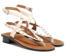 Sandalen Jings aus Leder