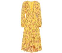 Kleid Joan aus Baumwolle und Seide