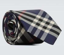 Karierte Krawatte Manston aus Seide