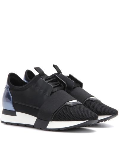 balenciaga damen sneakers race runners mit leder reduziert. Black Bedroom Furniture Sets. Home Design Ideas
