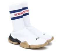 X Reebok High-Top-Sneakers Classic Sock Runner