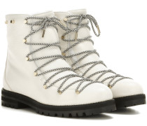 Boots Drake Flat aus Leder