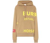 Hoodie Horseferry aus Baumwolle