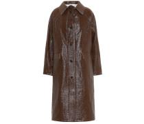 Beschichteter Mantel aus Leinen und Baumwolle