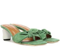 Sandalen Lottie aus Veloursleder