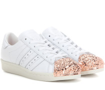 Sneakers Superstar 80s Metal Toe aus Leder