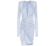Minikleid aus Metallic-Jersey