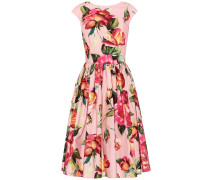 Bedrucktes Kleid aus Baumwolle