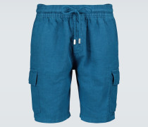 Cargo-Shorts Baie aus Leinen
