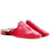 Slippers Carlotta aus Samt