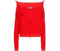 Cropped-Jacke aus Jersey