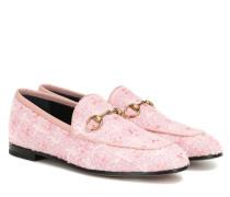Loafers Jordaan aus Tweed